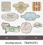 label tags for all kind of... | Shutterstock .eps vector #78694291