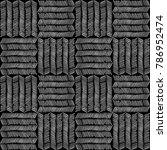 geometric thin grunge lines ... | Shutterstock .eps vector #786952474