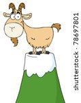 Longhorn Cartoon Character On...