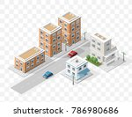 set of isolated high quality... | Shutterstock .eps vector #786980686