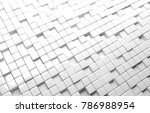abstract geometric shape of... | Shutterstock . vector #786988954