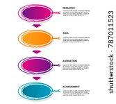 business data infographic... | Shutterstock .eps vector #787011523