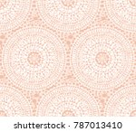 tribal indian style abstract... | Shutterstock .eps vector #787013410