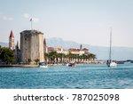 trogir  croatia   30 september  ... | Shutterstock . vector #787025098