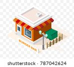 isometric high quality city... | Shutterstock .eps vector #787042624