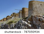Old Stone Windmills Near...