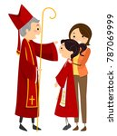 illustration of a stickman teen ... | Shutterstock .eps vector #787069999