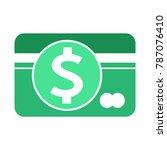 dollar sign money icon | Shutterstock .eps vector #787076410