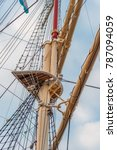 Small photo of mast from a sailing ship
