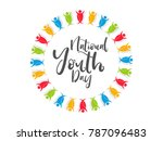 nice and beautiful abstract for ... | Shutterstock .eps vector #787096483