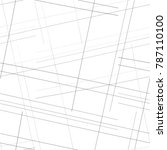 simple linear pattern  mesh ... | Shutterstock .eps vector #787110100