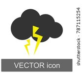 weather forecast cloud... | Shutterstock .eps vector #787115254