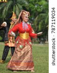 padang  west sumatra  indonesia ... | Shutterstock . vector #787119034