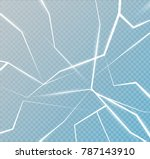 the surface texture is cracked... | Shutterstock .eps vector #787143910