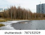 city landscape  buildings on...   Shutterstock . vector #787152529