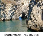 photo from famous caves of... | Shutterstock . vector #787189618