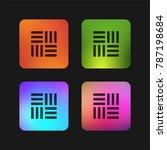 parquet four color gradient app ... | Shutterstock .eps vector #787198684