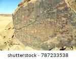 qaryat al asba  known to the... | Shutterstock . vector #787233538