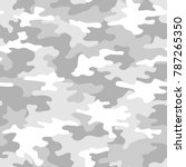 camouflage seamless pattern.... | Shutterstock .eps vector #787265350