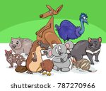 cartoon illustrations of... | Shutterstock .eps vector #787270966