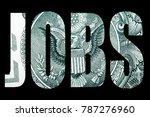 jobs  money  economy and... | Shutterstock . vector #787276960