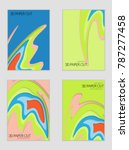 abstract banner template with... | Shutterstock .eps vector #787277458
