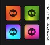 flickr logo four color gradient ...