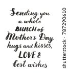 sending you a whole bunch of... | Shutterstock .eps vector #787290610