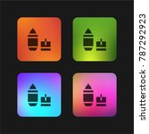 highlighter four color gradient ...