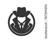 spy agent. detective logo | Shutterstock .eps vector #787294393