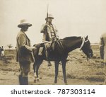 theodore roosevelt on horseback ... | Shutterstock . vector #787303114