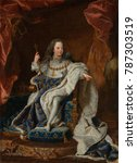 Louis Xv  By Hyacinthe Rigaud ...