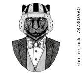 panther  puma  cougar  wild cat ...   Shutterstock . vector #787306960