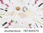 birthday  women day  party... | Shutterstock . vector #787345474
