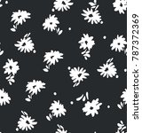 seamless floral pattern in... | Shutterstock .eps vector #787372369