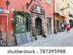 stockholm  sweden   february...   Shutterstock . vector #787395988