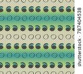 snake skin pattern. squama... | Shutterstock .eps vector #787404538