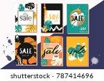 vector illustrations for... | Shutterstock .eps vector #787414696