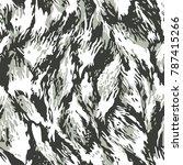 camouflage pattern in vector   Shutterstock .eps vector #787415266