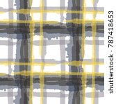 kilt texture. seamless grunge... | Shutterstock .eps vector #787418653