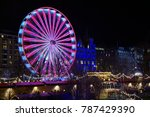 the famous christmas market at  ... | Shutterstock . vector #787429390