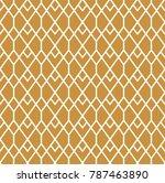 abstract art deco seamless... | Shutterstock .eps vector #787463890
