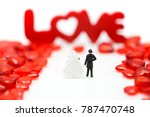miniature people  couple and... | Shutterstock . vector #787470748