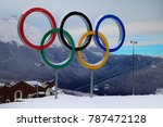 krasnaya polyana  sochi  ... | Shutterstock . vector #787472128