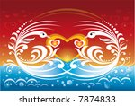 abstract background   Shutterstock .eps vector #7874833