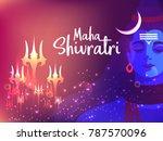 illustration of happy maha... | Shutterstock .eps vector #787570096