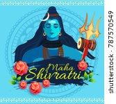 illustration of happy maha... | Shutterstock .eps vector #787570549