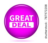great deal icon. internet... | Shutterstock . vector #787572208