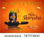 illustration of happy maha... | Shutterstock .eps vector #787574830