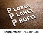3p marketing  people planet... | Shutterstock . vector #787584238